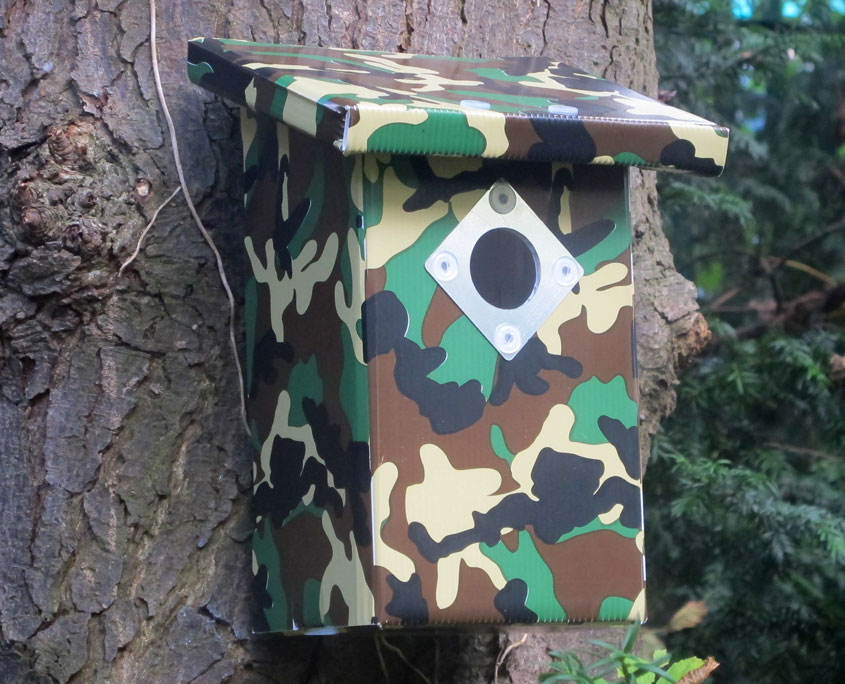 Bird House - Army Style