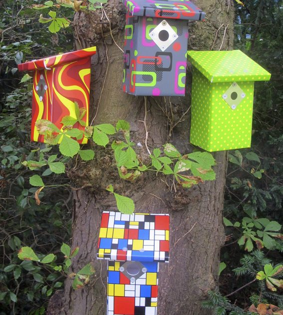 pop-up bird house designer series