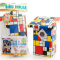 Modern Bird House Packaged